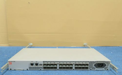 Brocade 300 320 SN-320 24 Port 8GB 8Gbps FC Fibre 8 Ports Active 80-10011544-03